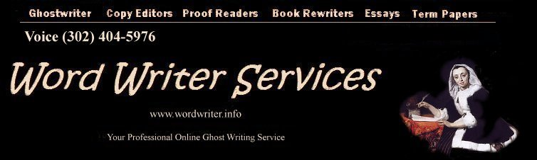 Professional Term Paper Ghostwriting For Hire